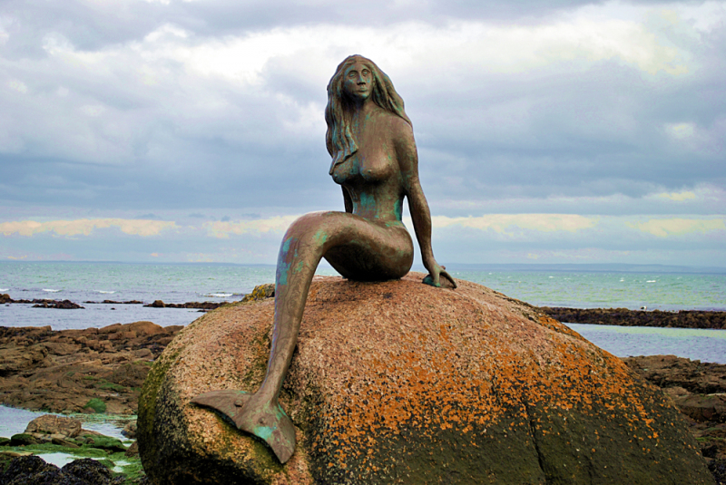 Mermaid of the North.  Photo © by Astra Bryson.