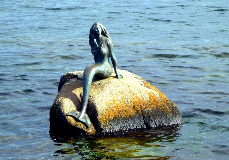 Mermaid of the North. Photo by Linda Vass