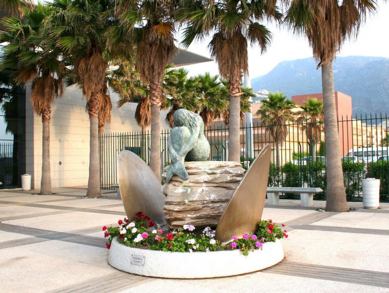 """La Sirene"" in Bastia, by Gabriel Diana."