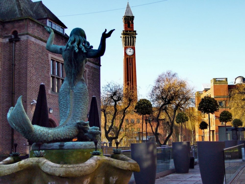 Birmingham Mermaid.  Photo © by Tanya Dedyukhina