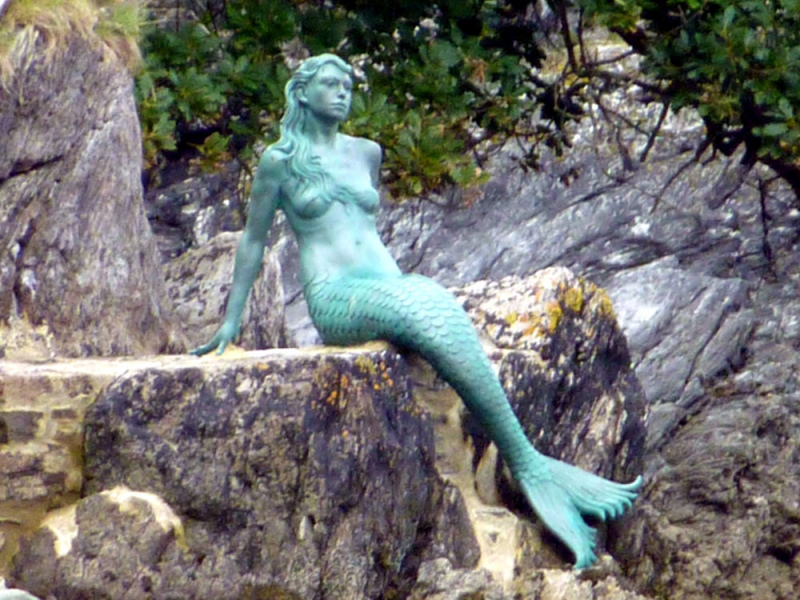 Miranda, The Dartmouth Mermaid.  Photo by Viv Marsh.