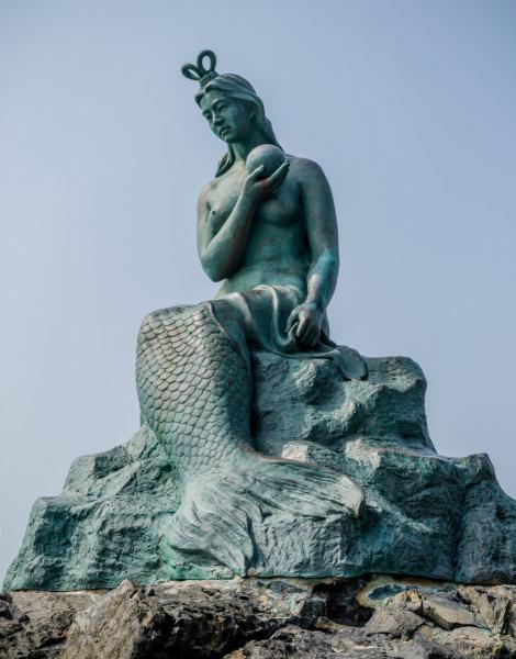 The Princess Hwangok Mermaid of Doengbaek.  Photo © by Laura Raymond.