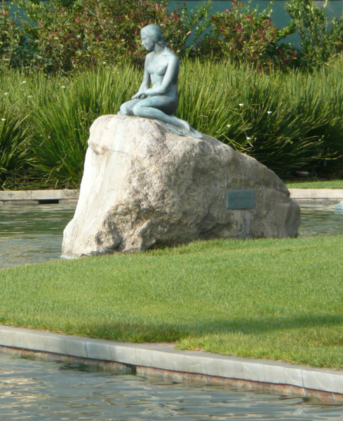 The Little Mermaid at Forest Lawn. Photo by Doug Williams.
