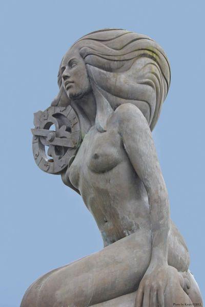 Nerissa, Mermaid of Ganges.  Photo © by Kmax.