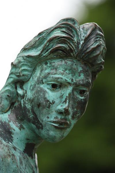 Greenville Mermaid Close-up