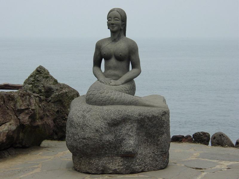 Jeju Mermaid by Dragon's Head Rock