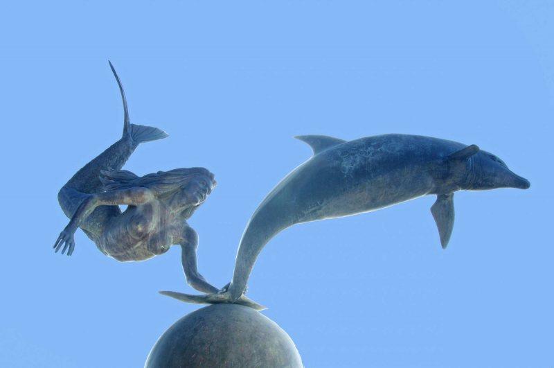 Sirena y Dolfine in La Paz.   Photo © by Eduardo Ysla.