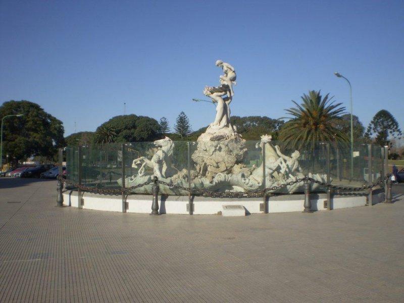 Fuenta Las Nereidas by Lola Mora.