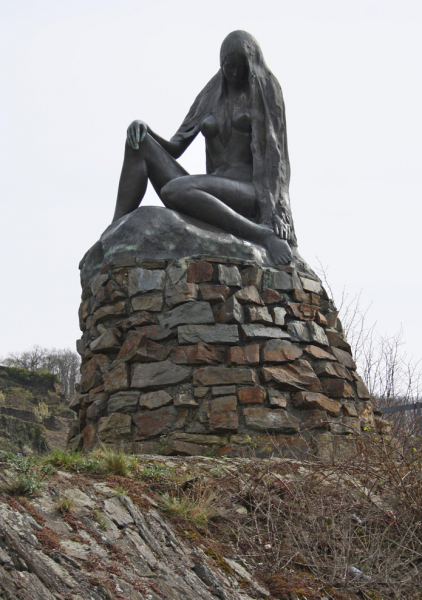 The Lorelei Statue.  Photo © by Marko Kruse