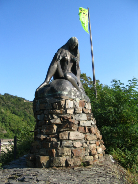 The Lorelei Statue.  Photo © by Rami Grossfeld.