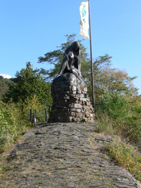 The Lorelei Statue.  Photo © by Stefan Schwab