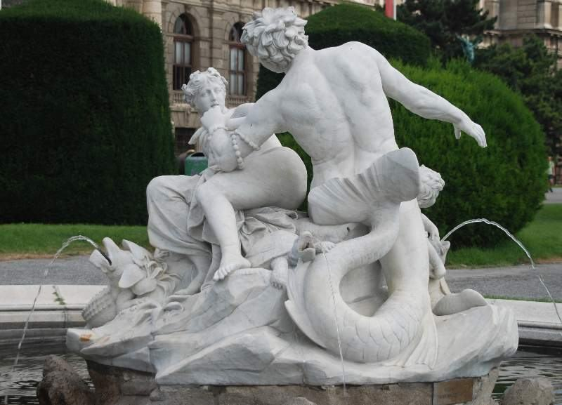 Triton and Mermaid.  Photo by GuentherZ CC BY 3.0