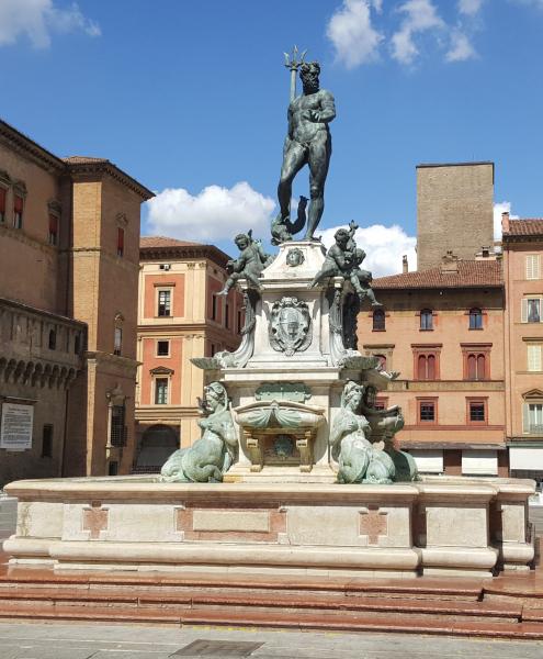 The Neptune Fountain in Bologna.  Photo © by Philip Jepsen.