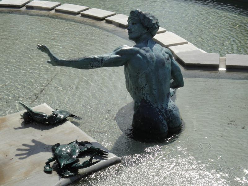 Fountain of Life at NY Botanical Gardens.  Photo © by Cristina Vinatoriu.
