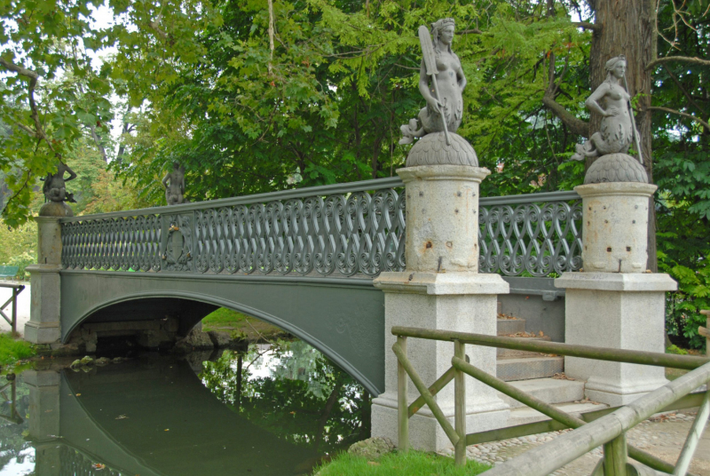 Ponte Delle Sirenette. Photo © by Enrique Fernandez Marcote.