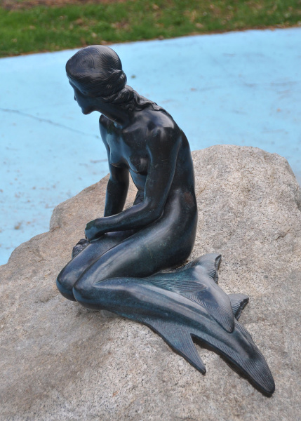 The Little Mermaid in SLC.  Photo by Nancy & Glen Carlson