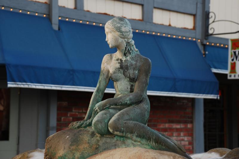 The Little Mermaid in Solvang California