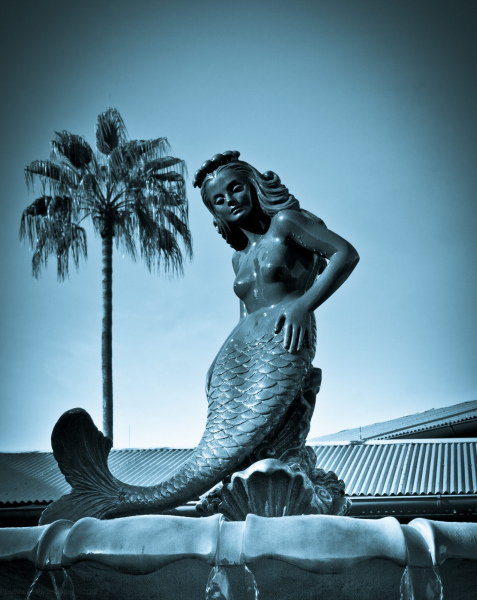 Mermaid Fountain from the Movie Splash.  Photo © by Doug Saletnik.