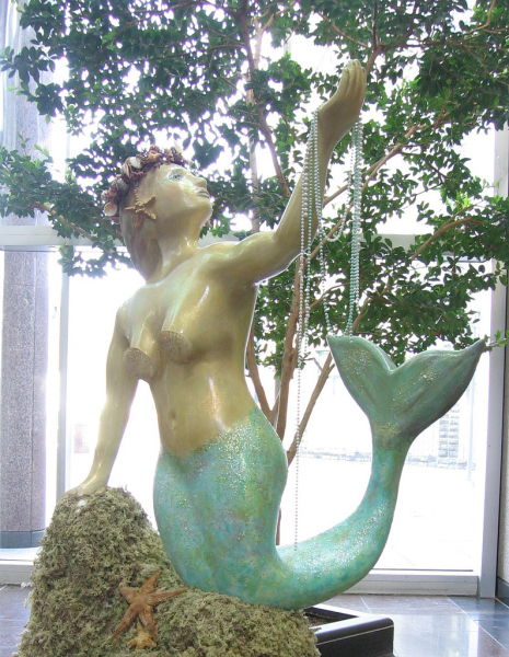 A St. Johns Mermaid.  Photo © by Heather Patey.