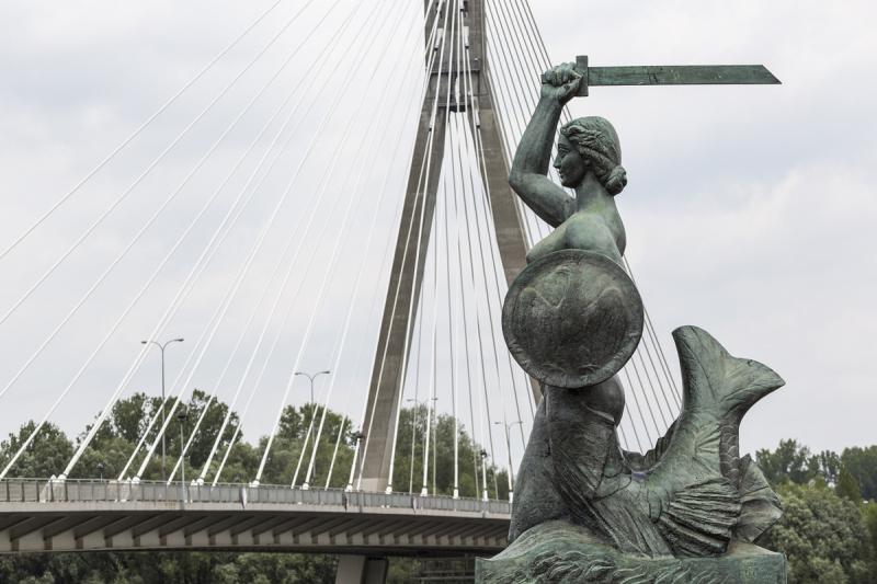 Syrenka Mermaid of Warsaw.