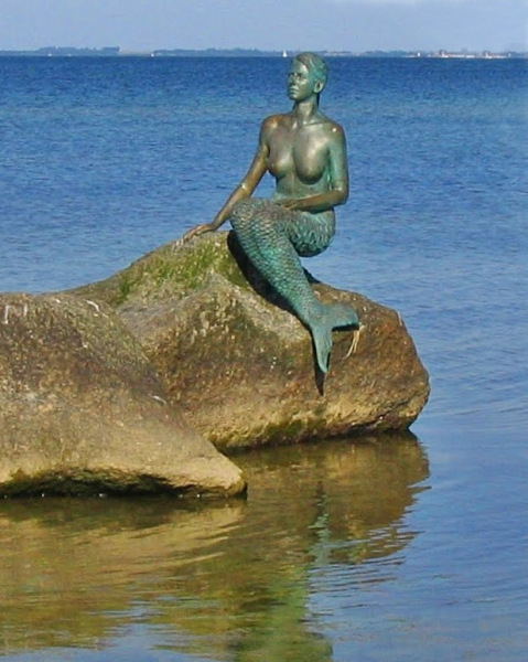 The mermaid from Boltenhagen and Travemünde.