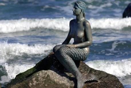 The mermaid from Travemünde.