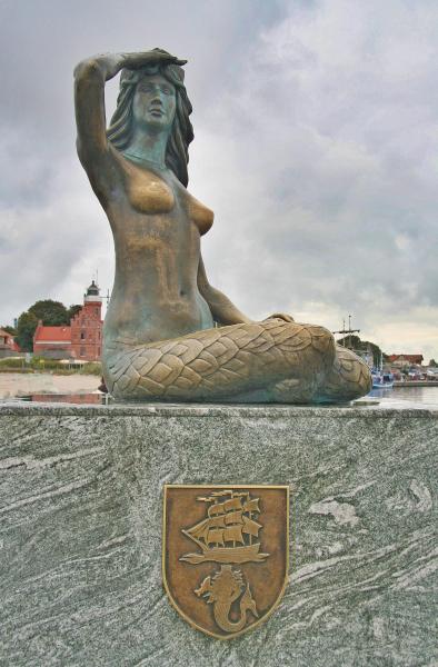 The Ustecka Mermaid.  Photo © by Armin Krake