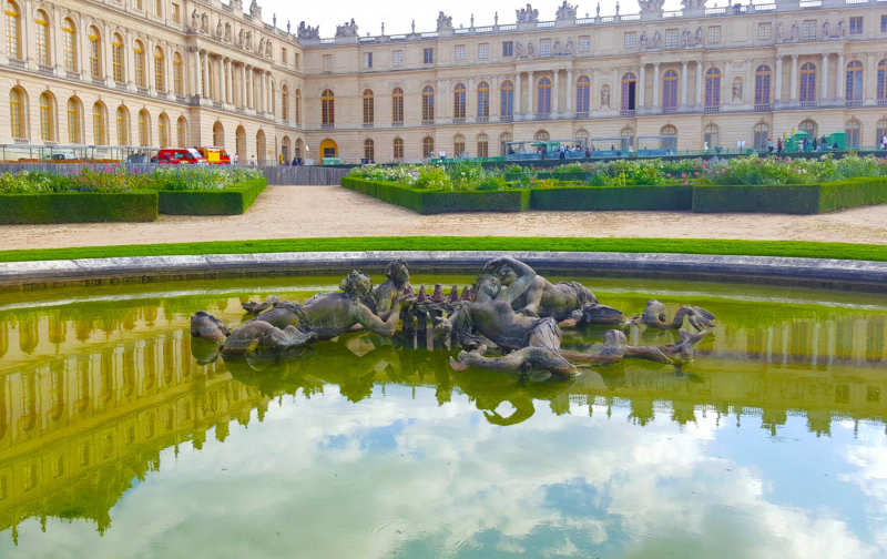 Tritons and Mermaids at Versailles.  Photo © by Philip Jepsen.