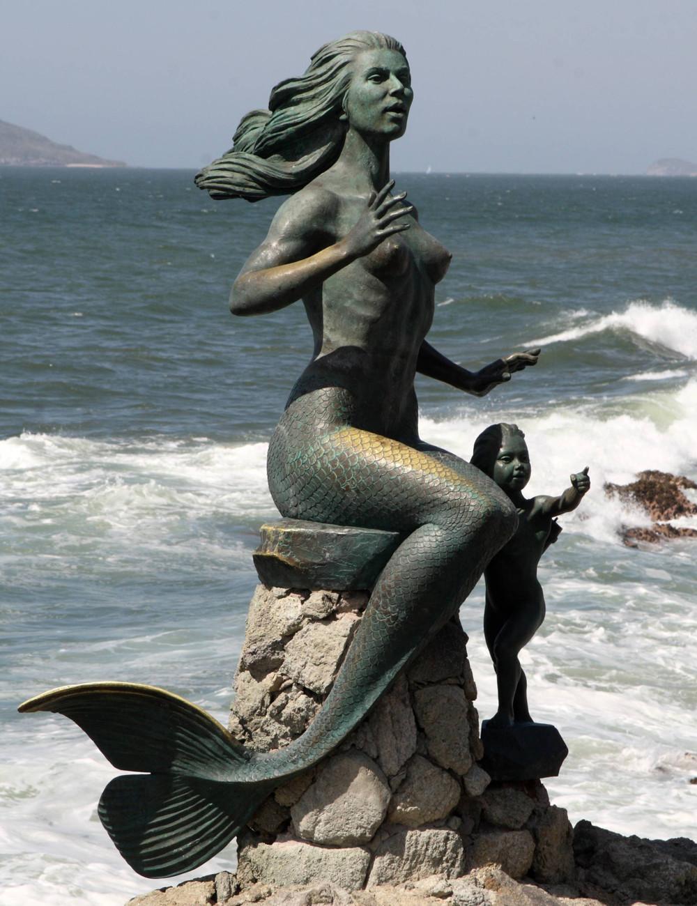 mermaid sculptures Gallery
