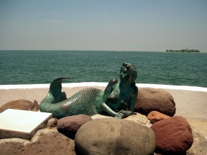 """The mermaid """"Sirena De Boca"""""""