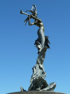 Russian Mermaid at Soter Point