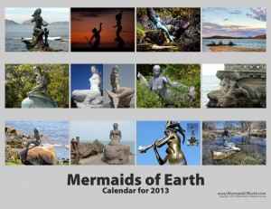 Mermaids of Earth Calendar Photo Overview