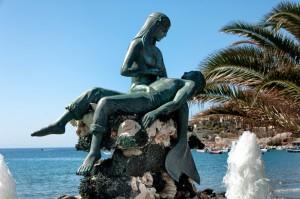 Panagia Gorgona Mermaid on Syros, Greece