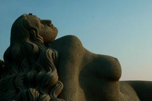 Mermaid sculpture - Jalakanyaka (mermaid)