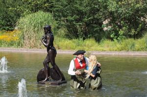Ama du Parc mermaid sculpture