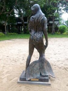 Ama Andaman Mermaid Statue
