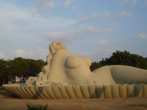 The Jalakanyaka Mermaid Statue.