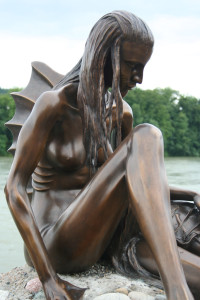 Rheinfelden Mermaid Sculpture