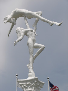 Weeki Wachee Entrance Mermaid Sculpture