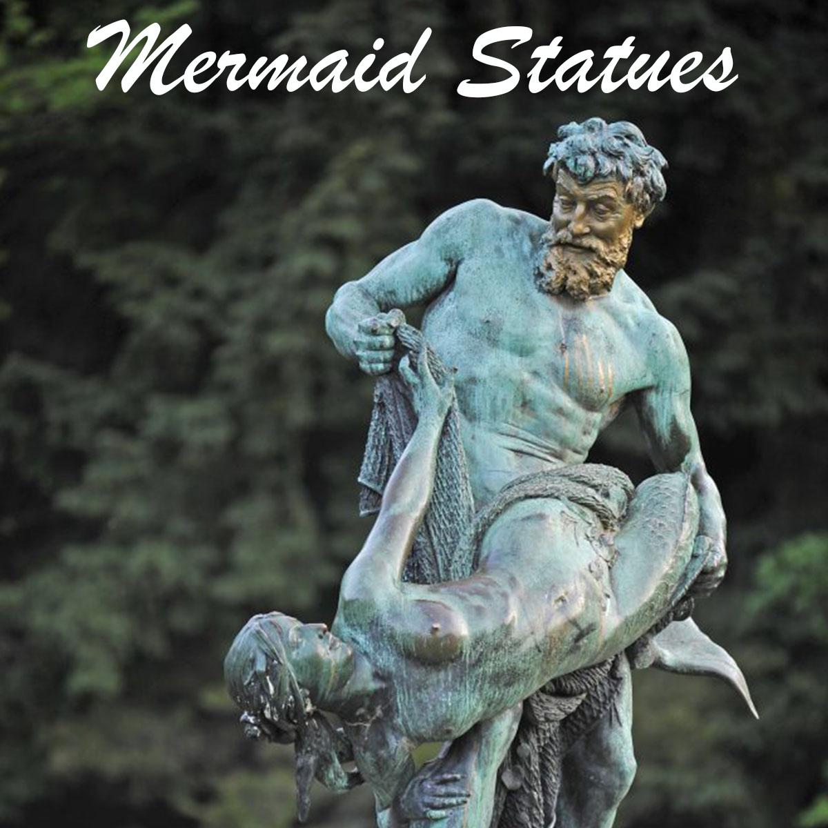 Mermaid Statues