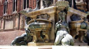 Neptune Fountain in Bologna