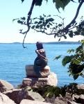 Eastport Mermaid Statue unveiled on August 1st